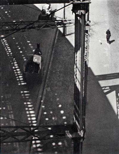 Paul Strand, 'Under the El, New York', 1915