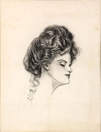 Harrison Fisher, 'Lovely Lady ', 20th Century