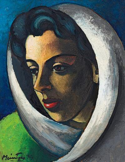 Johannes Meintjes, 'Kop met Doek (Head with Scarf, based on Mimi Coertse)', 1957