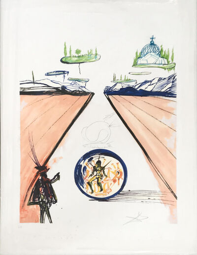 Salvador Dalí, 'Intra Uterine Paradisiac Locomotion ', 1975-1976