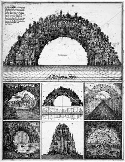 Brodsky & Utkin, 'Hill with a Hole', 1987-1990