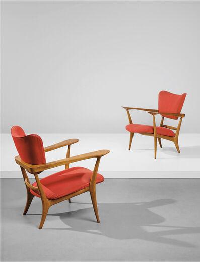 Ico Parisi, 'Pair of rare armchairs', circa 1947