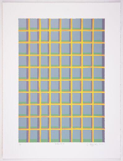 Jonathan K Higgins, 'Yellow Grid', 2014