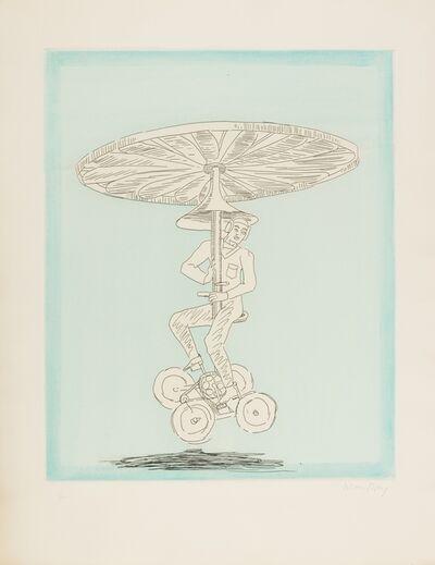 Man Ray, 'Monocopter (Anselmino 7)', 1972