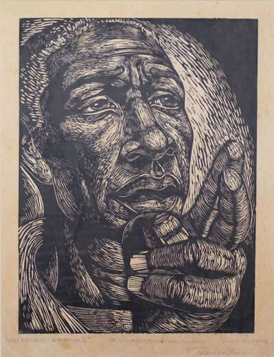 Charles White, 'The Negro Speaks', 1949