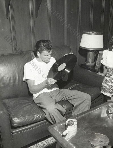 Unknown, 'Frank Sinatra - For the love of vinyl', ca. 1945