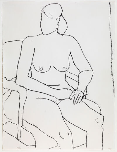 Richard Diebenkorn, 'Seated Nude', 1965