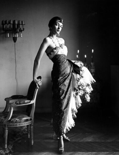 Gordon Parks, 'Paris Fashions, Countess Maxine de la Falaise', 1950