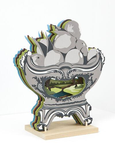 Janice Jakielski, 'Segmented Fruit Bowl with Landscape', 2019