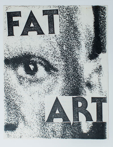 Keith Haring, 'Untitled ('Fat Art')', 1980