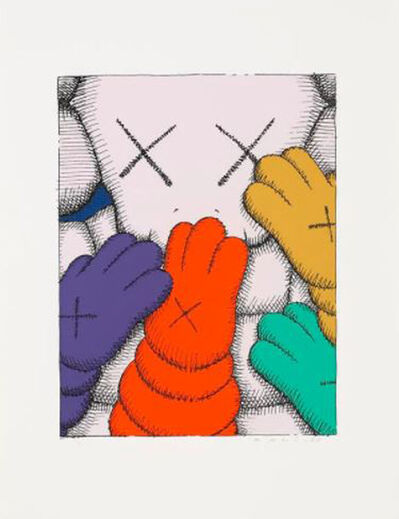 KAWS, 'Urge (White)', 2020