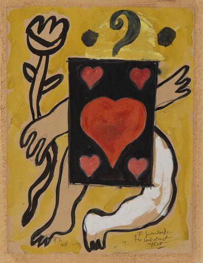 Fernand Léger, 'L'as de coeur', 1948