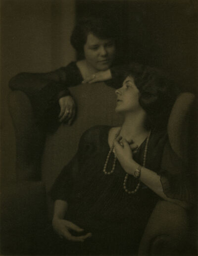 Ira Martin, 'Jane Thomas Martin and Grace Thomas', 1924