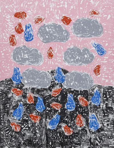 Olaf Breuning, 'Raining', 2019