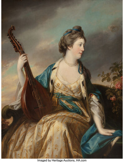 Francis Cotes, 'Portrait of Alice, Countess of Shipbrook'