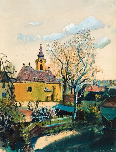 Oskar Laske, 'Church in Ober St. Veit', 1946