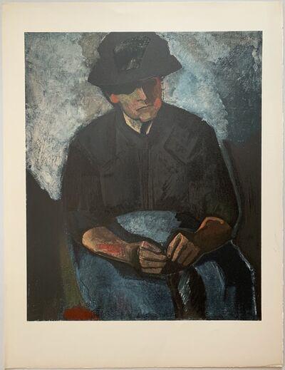 Charles Dufresne, 'Femme au Tablier Bleu', 1930 / Printed 1971