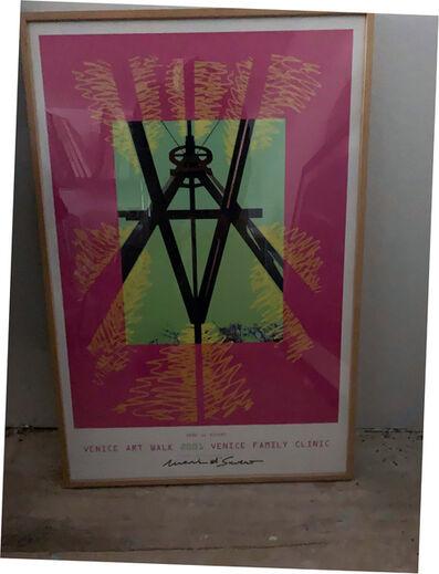 Mark di Suvero, 'Mark Di Suvero, Venice Art Walk 2001, Venice Family Clinic, Signed Poster', 2001