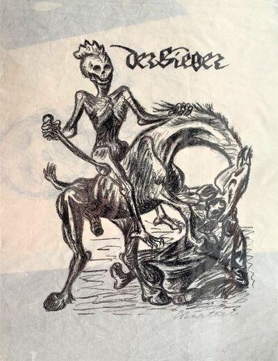 Ernst Barlach, 'Der Sieger', 1924