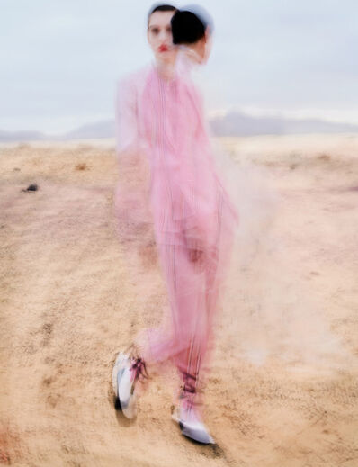 Txema Yeste, 'Amandine in Pink', 2018