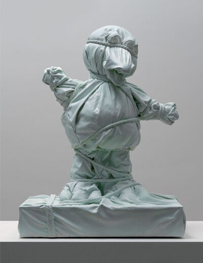Daniel Arsham, 'Wrapped Bird Green', 2018