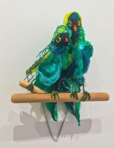 Christy Rupp, 'Parrots after Frida Kahlo ca. 1937 ', 2017