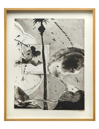 Matsumi Kanemitsu, 'Hollywood Hills Ghost', 1970