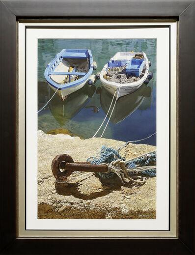 Iban Navarro, 'Docked Boats', 2019
