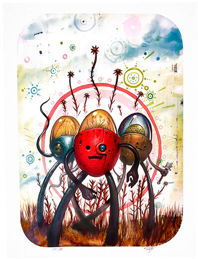 Jeff Soto, 'TRES FLORES Artist Proof', 2006