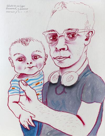 Eduardo Sarmiento, 'Mis hijos Emmanuel & Luciano', 2015