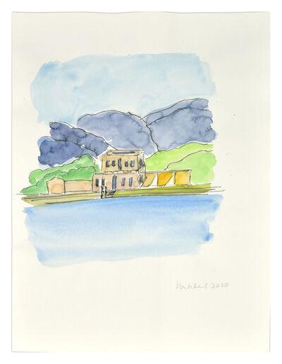 Elizabeth Enders, 'Shelley's House on the Bay of Lerici III', 2020