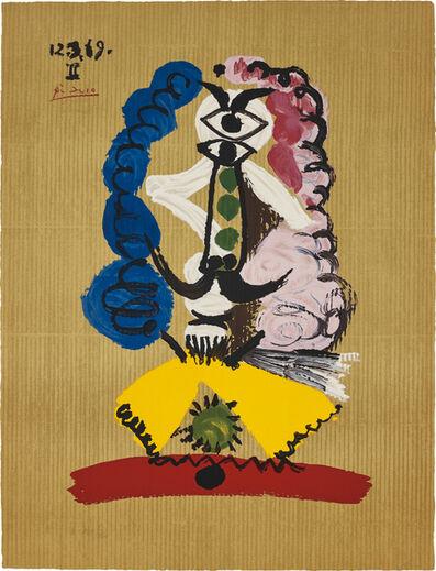 Pablo Picasso, 'Portrait imaginaire (Imaginary Portraits): one plate', 1969