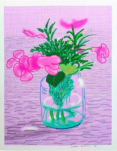 David Hockney, 'iPad Drawing Untitled, 329', 2010
