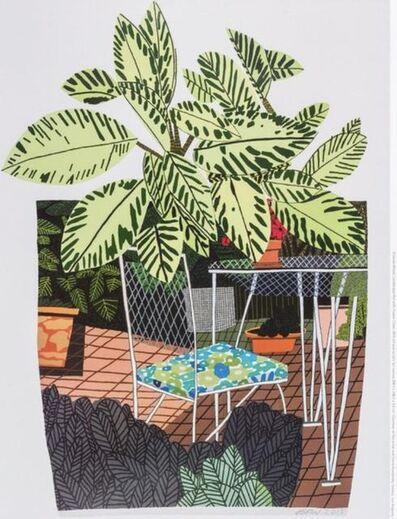 Jonas Wood, 'Pot With Flower Chair', 2015