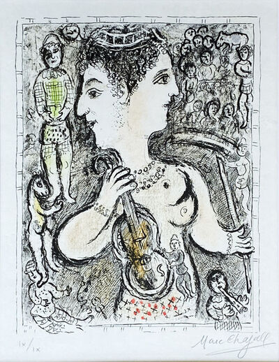 Marc Chagall, 'Double Visage', 1978