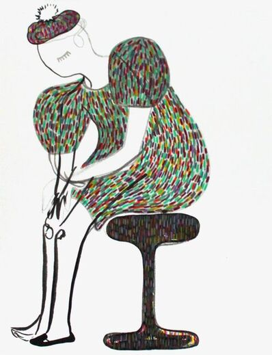 Rebeca Raney, 'Seated Figure', 2010