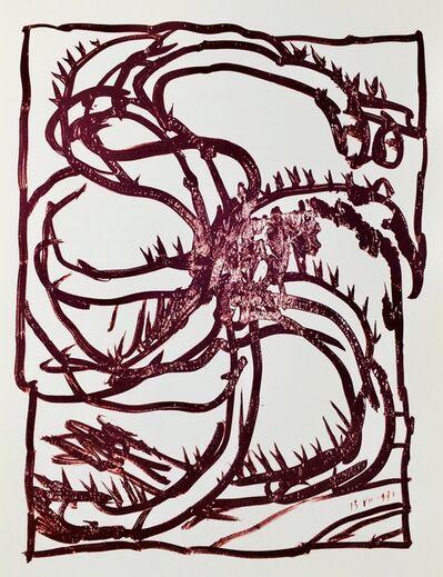 Pierre Alechinsky, 'Pierre Alechinsky lithograph ', 1981
