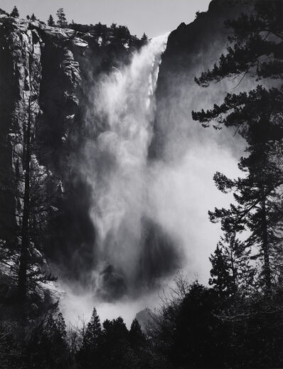 Ansel Adams, 'Bridalveil Fall, Yosemite, c. 1927', ca. 1927