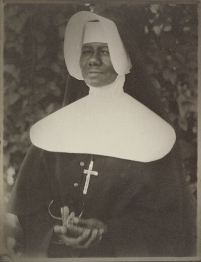 Doris Ulmann, 'Sister Mary Paul Lewis, a Sister of the Order of the Holy Family, New Orleans', 1931