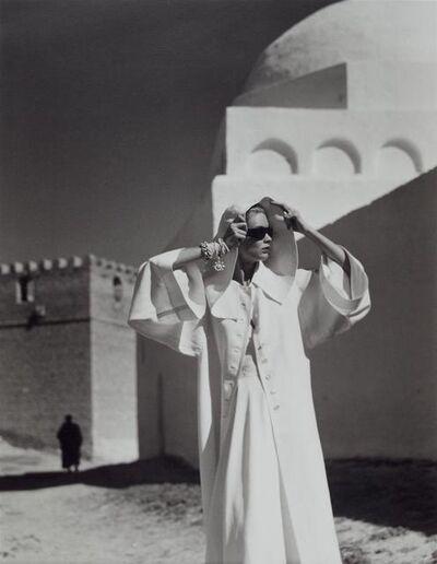 Louise Dahl-Wolfe, 'Natalie in Gres Coat, Kairouan', 1950