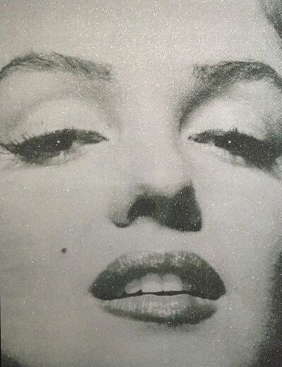 Russell Young, 'Marilyn Close Up (Atomic Silver)'