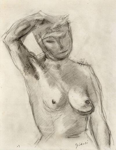Mario Sironi, 'Studio di nudo femminile', 1928-1929 circa