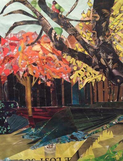 "Sonia Gill, '""Proud Persimmon""', 2016"
