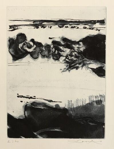 Zao Wou-Ki 趙無極, 'Genese (322)', 1982