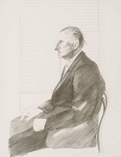 David Hockney, 'Portrait of Felix Mann 'HC Edition' Signed by David Hockney', 1969