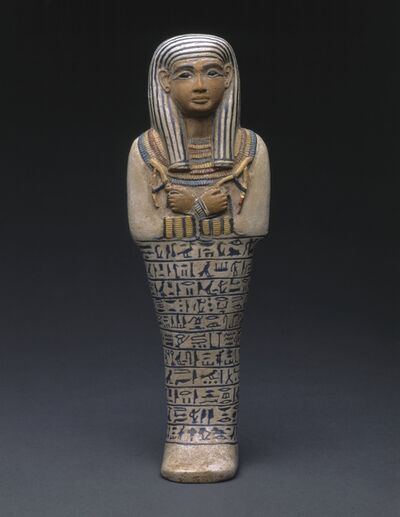 Unknown Artist, 'Shawabti of the Lady of the House Sati', ca. 1390 BCE