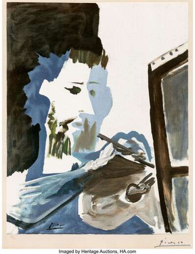 Pablo Picasso, 'Le peintre', 1963