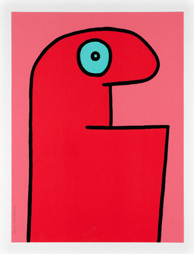 Thierry Noir, 'Red Head. Ed 25.', 2015