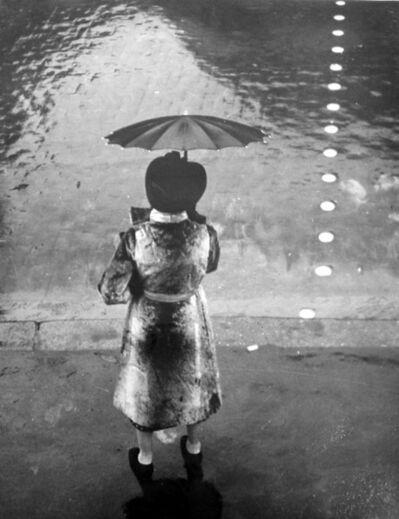 Brassai (Gyula Halasz), 'Temps de pluie, circa 1937',  Print Date: 1945-1950