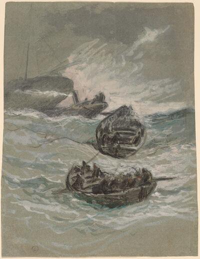 Elihu Vedder, 'The Shipwreck', ca. 1880